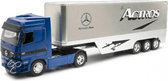 New ray Truck mercedes actros blauw 1:32