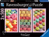 Ravensburger Howard Shooter: Macarons (3 x 500) - Legpuzzel