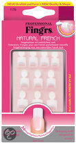 Fing'Rs Natural French - 24 stuks - Nepnagels