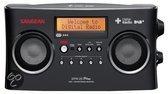 Sangean DPR-25 - Draagbare radio met DAB+ - Zwart