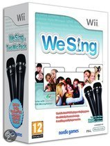We Sing (incl. twee microfoons)