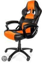 Arozzi Monza Racestoel - Oranje (PS3 + PS4 + Xbox360 + XboxOne + PC + Wii U)