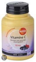 Roter Vitamine C Bosvruchtensmaak 70 mg -  400 Kauwtabletten
