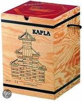 Kapla Kist met 280 Plankjes + rood voorbeeldenboek