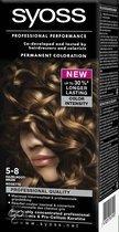 SYOSS Color baseline 5-8 Hazelnootbruin - Haarkleuring