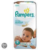 Pampers New Baby Sensitive - Maat 2 met urine indicator Voordeelpak 48 stuks