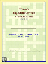 Webster's English To German Crossword Puzzles: Level 10