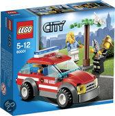 LEGO City Brandweercommandant - 60001