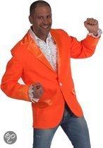 Oranje colbert voor heren 56-58 (l)