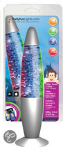 Lavalamp - Glitter, schud & licht op