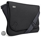Built NY Soho Laptop Massenger Tas - 11 - 13 Inch - Zwart
