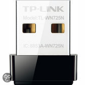 TP-Link TL-WN725N - Wireless N Nano USB-adapter - 150 Mbps