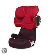 Cybex Solution X2 - Autostoel - Strawberry - dark red