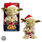 Star Wars: Sprekende Medium Santa Yoda Pluche