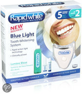 Rapid White Blue light whitening systeem - 6 delig - Whitening kit