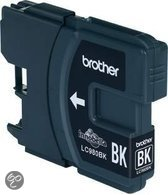 Brother LC-980BK - Inktcartridge / Zwart