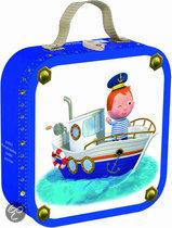 Puzzelkoffer Fleurus Leo'sboot