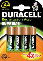 Duracell Rechargeable Accu Supreme - 4xAA