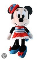 Disney Minnie mouse love plush 25cm gestreept jurkje
