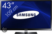 Samsung PS43F4900 - 3D Plasma TV - 43 inch - HD Ready - Internet TV