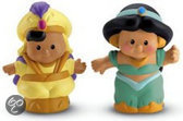 Fisher-Price Little People Aladdin en Jasmine
