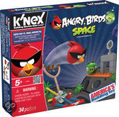 K'NEX Angry Birds Space Starter - Super Red vs. Small Minion Pig