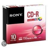CD-R 48x 700MB INKJET Printable SLI