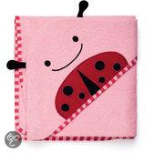 Skip Hop - Zoo capuchon handdoek - Lieveheersbeestje - Roze