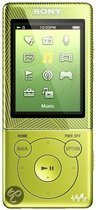 Sony NWZ E474 - Walkman Video MP3 speler 8GB - Groen
