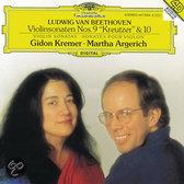 Beethoven: Violinsonaten nos 9 & 10 / Kremer, Argerihc