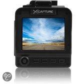 Dashcam Full HD met GPS, 1080P, nachtzicht, hoge kwaliteit opnames X-Capture X5200