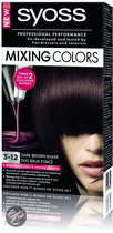 SYOSS Mixing Colors 3-12 Dark Brown Shake - Haarkleuring