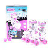 Roze rolschaatsen voor meisjes 26-29