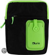 Kurio Schoudertas voor Kurio Tablets - Zwart/Groen
