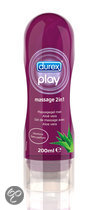 Durex Play Massage 2 in 1 Massagegel met Aloë vera  - 200 ml - Glijmiddel