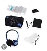Playfect  Blue Spider Accessoire Pakket 3DS + DSi + DS Lite