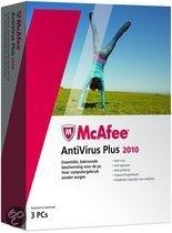 McAfee Antivirus Plus 2010, 3 User Nl