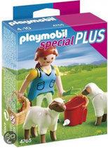 Playmobil Boerin met Schapen - 4765