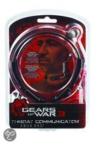 MadCatz Gears of War Hals Communicator Zwart Xbox 360