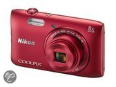 Nikon COOLPIX S3600 - Rood