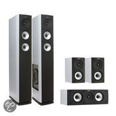 Jamo S626 HC - 5.0 speakerset - White Ash