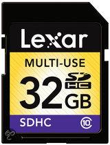 Lexar Classic SD kaart 32 GB