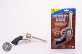 Cowboy pistool met 8 shots klein