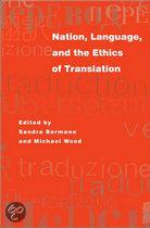 Nation, Language and the Ethics of Translation