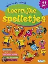 Speel- en puzzelblok  / Leerrijke spelletjes 6-8 jaar