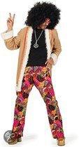 Hippie broek met jasje voor heren 56 (2xl)
