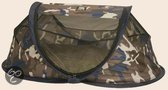 Deryan Baby Luxe - Campingbedje - Camouflage Blauw