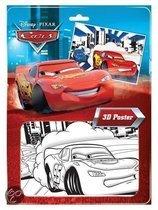 Cars 3d poster kleurset