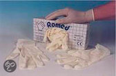 Romed Latex Onderzoekshandschoen Large Box 100st