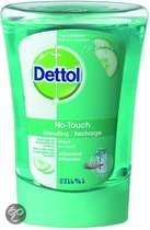 Dettol No-touch Zeep Frisse Komkommer Navulling
